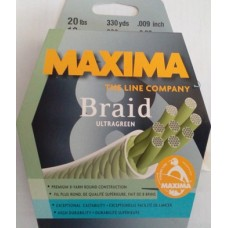 MAXIMA Braid ULTRAGREEN 300m 8X 0.22mm