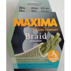 MAXIMA Braid ULTRAGREEN 300m 8X 0.25mm