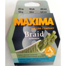 MAXIMA Ultra Braid Green 8X  150m 0.22mm