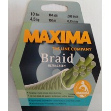 MAXIMA Ultra Braid Green 8X 150m 0.15mm